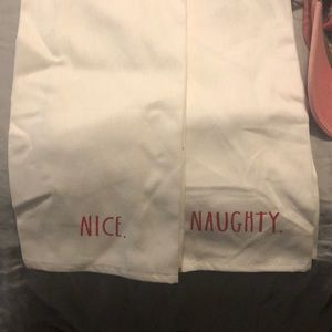 NAUGHTY/NICE TEA TOWELS